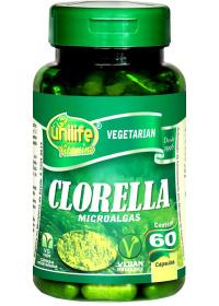 Clorella Fibras de Microalgas Unilife 60 cápsulas