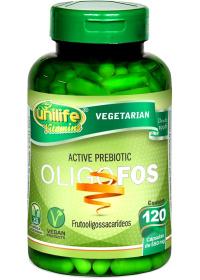 Oligofos Active Prebiotic Unilife 120 cápsulas de 550mg