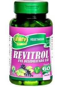 Revitrol Uva Desidratada 1.0 unilife 60 cápsulas de 500mg