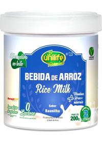 Bebida de Arroz em Pó Original Unilife 200g