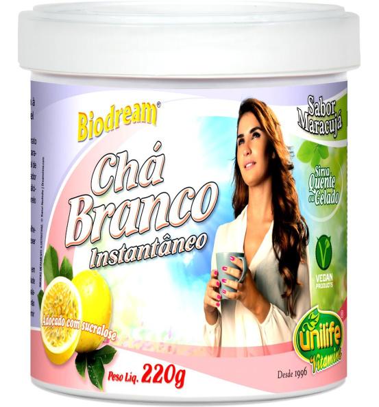 Chá Branco Instantâneo Unilife 220g