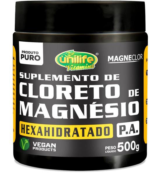 Cloreto de Magnésio Hexahidratado P.A Unilife 500g