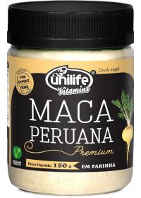 Farinha Maca Peruana Premium Unilife 150g