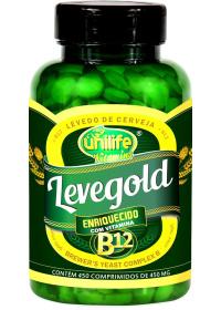 Levegold + B12 Unilife 450 Comprimidos de 450mg