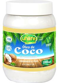 Óleo de Coco Extra Virgem Unilife 1 Litro