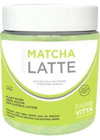 Matcha Latte - Leite de Coco c/ Matcha e Proteínas Farovitta 270g