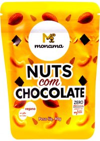 Snack Nuts com Chocolate Monama 40g