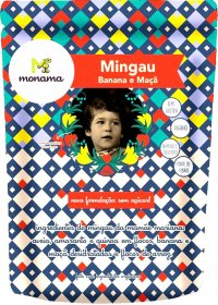 Mingau Banana e Maça Monama 200g