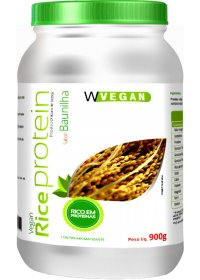 Rice Protein Baunilha Wvegan 900g