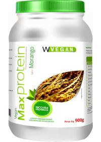 Max Protein Morango Wvegan 900g