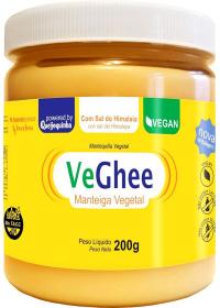 VeGhee Manteiga Vegetal Com Sal do Hiimalaia Natural Science 200g