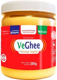 VeGhee Manteiga Vegetal Levemente Picante Natural Science 200g