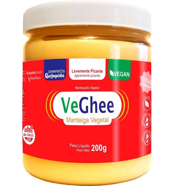 VeGhee Manteiga Vegetal Levemente Picante Natural Science 200g
