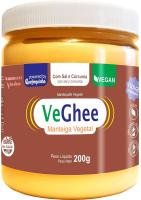 VeGhee Manteiga Vegetal Com Sal e Cúrcuma Natural Science 200g