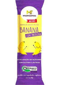 Barrinha Orgânica de Banana com Proteína Monama 25g