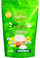 Chips de Coco Original Qualicoco 40g