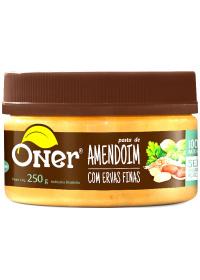 Pasta de Amendoim com Ervas Finas Oner 250g
