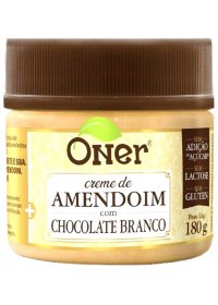 Doce Fit Amendoim com Chocolate Branco Oner 180g