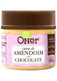 Doce Fit Amendoim com Chocolate Oner 180g