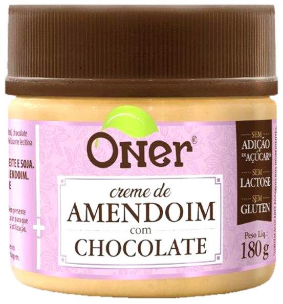 Doce Fit Amendoim com Chocolate Oner 180g