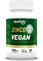 Zinco Vegan Apisnutri 60 cápsulas de 280mg