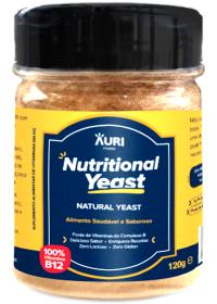 Nutritional Yeast Em Pó Natural Auri Foods 120g