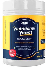 Nutritional Yeast Em Pó Natural Auri Foods 250g