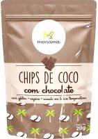 Coco Chips C/ Chocolate Monama 20g