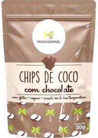 Coco Chips C/ Chocolate Monama 20g