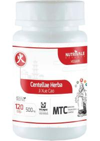 Centella (Centellae Herba - Ji Xue Cao) Nutrivale 120 cápsulas de 500mg