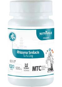 Salsaparrilha (Rhizoma Smilacis -Tu Fu Ling) Nutrivale 120 cápsulas de 500mg