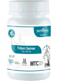 Sene (Folium Sennae - Fan Xie Ye) Nutrivale 120 cápsulas de 500mg