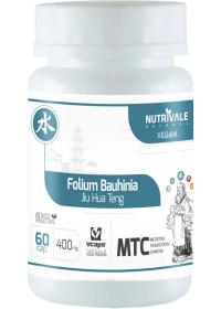 Pata de Vaca (Folium Bauhinia - Jiu Hua Teng) Nutrivale 120 cápsulas de 500mg