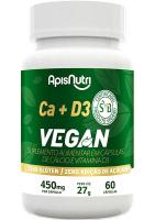 CA + D3 Vegan Apisnutri 60 cápsulas de 450mg