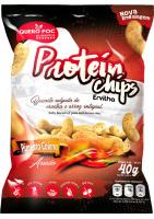 Protein Chips (Proteína Isolada Ervilha) Sabor Pimenta Cayena Quero Poc 40g