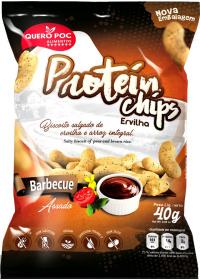 Protein Chips (Proteína Isolada Ervilha) Sabor BBQ Quero-Poc 40g