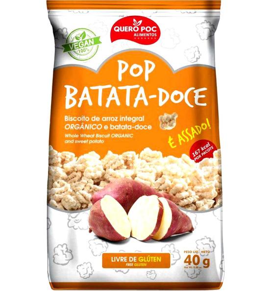 Pop Batata-Doce Quero Poc 40g
