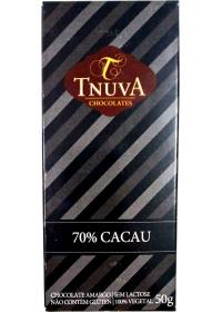 Chocolate Meio Amargo 70% Cacau Tnuva 50g