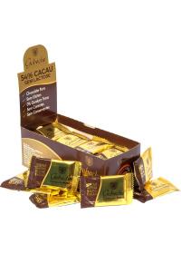 Caixa Chocolate Gourmet 54% Cacau Gobeche 44 unidades de 12g