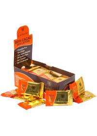 Caixa Chocolate Gourmet 80% Cacau Gobeche 44 unidades de 12g