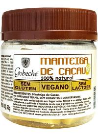Manteiga de Cacau Natural Gobeche 60g