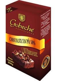 Chocolate em Pó Solúvel 50% Cacau Gobeche 200g
