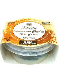 Damascos Cobertos C/ Chocolate 70% Cacau Gobeche 60g