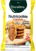 Cookie Integral Frutas Amarelas Sem Glúten Nutripleno 30g