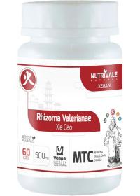 Valeriana (Rhizoma Valerianae - Xie Cao) Nutrivale 60 cápsulas de 500mg