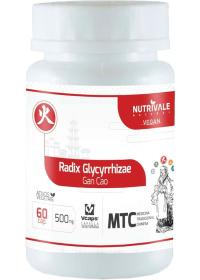 Alcaçuz (Radix Glycyrrhizae - Gan Cao) Nutrivale 60 cápsulas de 500mg