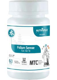 Sene (Folium Sennae - Fan Xie Ye) Nutrivale 60 cápsulas de 500mg