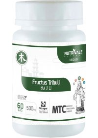 Tribulus Terrestris (Fructus Tribuli - Bai Ji Li) Nutrivale 60 cápsulas de 500mg