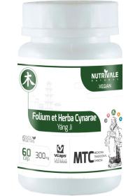 Alcachofra (Folium et Herba Cynarae - Yáng Ji) Nutrivale 60 cápsulas de 300mg