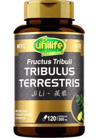 Tribulus Terrestris (Fructus Tribuli - Ji Li) Unilife 120 cápsulas de 500mg